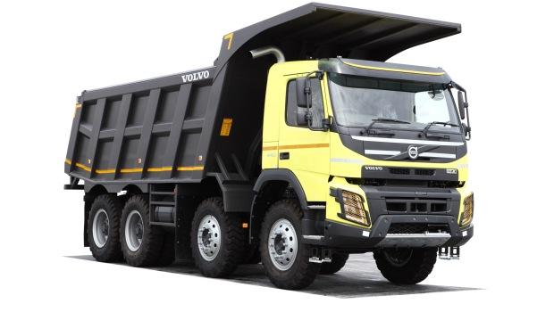 volvo FM9 کامیون کمپرسی tripper